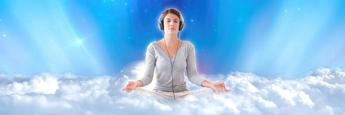 Royalty Free Meditation Music Homepage Banner
